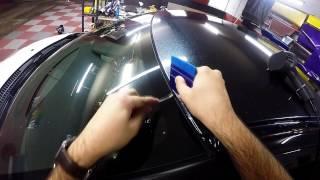 getlinkyoutube.com-Citroen DS3 Super Metallic Roof Wrap (Real Time)