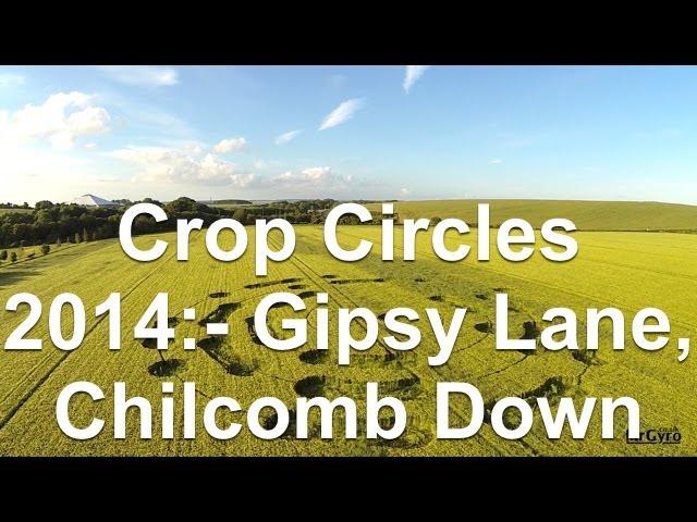Crop Circles 2014 - Gipsy Lane, Chilcomb Down, Hampshire