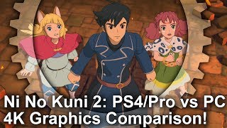Ni no Kuni II: Revenant Kingdom - PS4/PS4 Pro vs PC Graphics Comparison