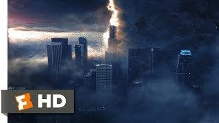 The Day After Tomorrow (1/5) Movie CLIP - Tornadoes Destroy Hollywood (2004) HD