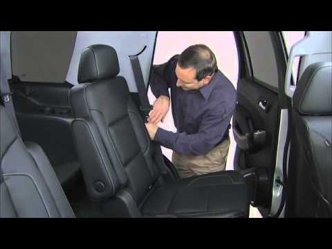2016 Chevrolet Tahoe & Suburban How To Operate Rear Seats