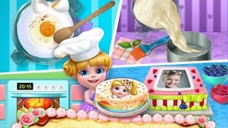getlinkyoutube.com-Real Cake Maker 3D  - TabTale Cooking Simulation - Videos Games for Kids - Girls - Baby Android