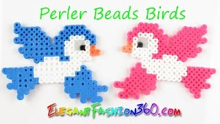 getlinkyoutube.com-DIY Perler/Hama Beads Birds - How to Tutorial Spring/Animal