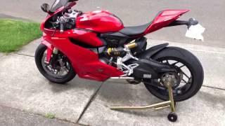 getlinkyoutube.com-Ducati Panigale heat shield installed