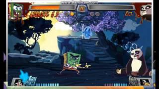 getlinkyoutube.com-Let´s Play Super Brawl 3: Story Mode with Abrasive Spongebob