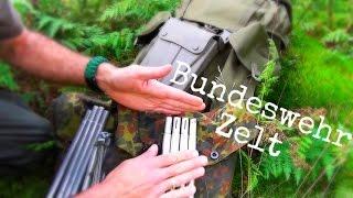 getlinkyoutube.com-Outdoor Ausrüstung 24 - Aufbauanleitung Bundeswehr Zelt