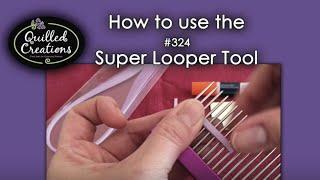 getlinkyoutube.com-Super Looper Quilling Comb