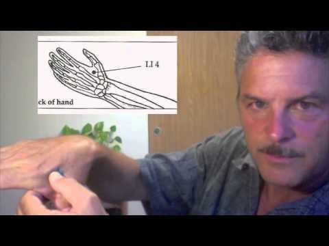 Pain Relief: Acupressure Point (LI 4, Hoku) Demonstration