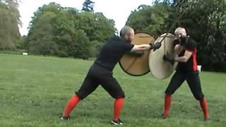 getlinkyoutube.com-Sword & Shield Fighting with Roland Warzecha