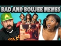 ADULTS REACT TO BAD AND BOUJEE Memes - Rain Drop, Drop Top