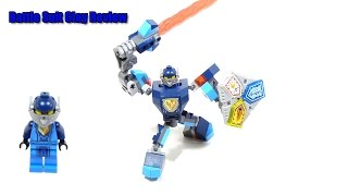 getlinkyoutube.com-Lego Nexo Knights 70362 Battle Suit Clay Review