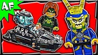 getlinkyoutube.com-Lego Ultra Agents OCEAN HQ 70173 Stop Motion Build Review