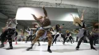Beyoncé - Super Bowl Halftime Rehearsal (Day 1)