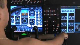 getlinkyoutube.com-HOME COCKPIT FLIGHT SIM WITH SAITEK PRO FLIGHT