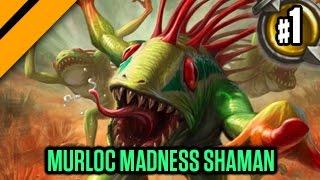 getlinkyoutube.com-Day[9] HearthStone Decktacular #173 - Murloc Madness Shaman P1