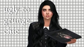 getlinkyoutube.com-The Sims 4 Create-A-Sim: Ugly to Grunge Chic (with CC credits)