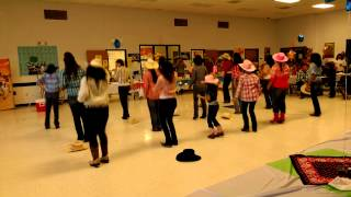 getlinkyoutube.com-JW TJ El Sonidito Line Dance