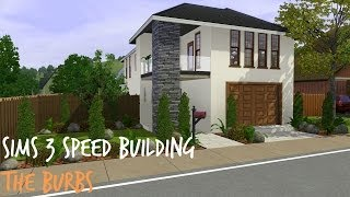 getlinkyoutube.com-Sims 3 Speed Building - The Burbs