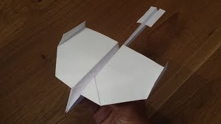 getlinkyoutube.com-How To Make a Paper Airplane that Flies Far - World's Best Paper Airplane (Swallow)