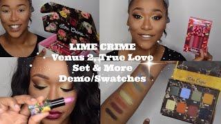 getlinkyoutube.com-Lime Crime:Venus 2, True Love Set &More! Demo/Swatches