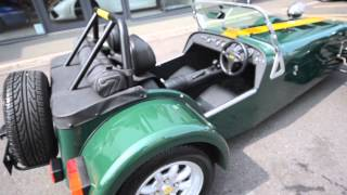 getlinkyoutube.com-Caterham Super Seven Roadsport 125 - Amari Super Cars