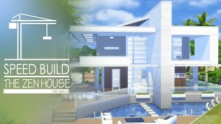 getlinkyoutube.com-The Sims 4 - Speed Build - The Zen House