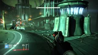 getlinkyoutube.com-Destiny Crota's End Solo Bridge Checkpoint (Bladedancer)