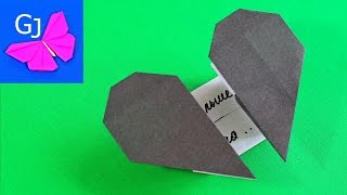 getlinkyoutube.com-Разбитое сердце оригами