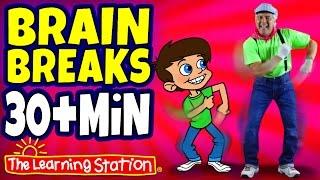 getlinkyoutube.com-Boom Chicka Boom ♫  Brain Breaks Playlist for Children ♫ Action Songs for Kids ♫ Kids Camp Songs