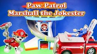 PAW PATROL Nickelodeon Paw Patrol Jokester Marshall a Paw Patrol Video Parody