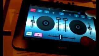 getlinkyoutube.com-Dj control para Tablet (Testing)