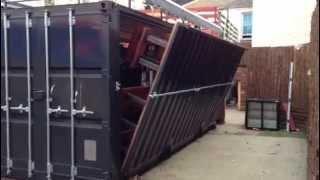 getlinkyoutube.com-Davey & Jordan ltd Shipping container