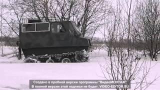 Самодельный гусеничный вездеход Хабаровск