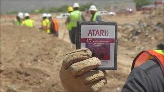 getlinkyoutube.com-The ATARI Video Game Burial Excavation