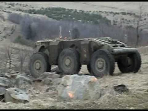 Crusher Unmanned Ground Vehicle- Testing Highlights