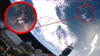 getlinkyoutube.com-Ancient Aliens Dragon sighting  ISS space station live feed NASA cuts live feed