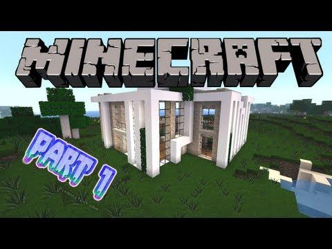 Minecraft : Modernes Haus bauen #3 [Deutsch/German] Part 1