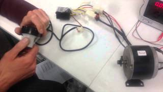 getlinkyoutube.com-Razor E100 Tech - Controller and Throttle Operation (ebay Safe)