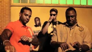 getlinkyoutube.com-Jim Jones In Harlem With DJ Aye Bay Bay And Dorrough Music