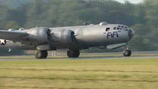 getlinkyoutube.com-B-29 Superfortress FiFi WWII Weekend 2011 - Reading Pa. on 6/5/11