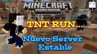 getlinkyoutube.com-Server TNT Run Para Minecraft PE 0.10.5 Estable - Cómo Entrar y Registrarse