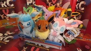 ToyCollection | Pokémon XY Eeveelution Plush: EXCLUSIVE!