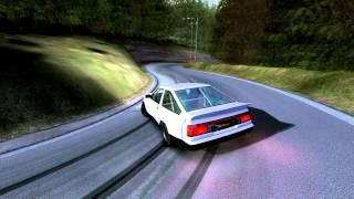 getlinkyoutube.com-Rfactor | Ebisu Touge Drift | AE86 n2