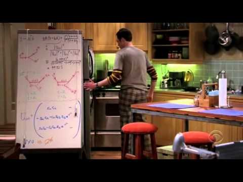 The Big Bang Theory - 101- Sheldon talks about women taking clothes off in their apartment.avi