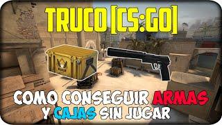 getlinkyoutube.com-Truco [CS:GO] ¿Cómo conseguir armas y cajas sin Jugar?
