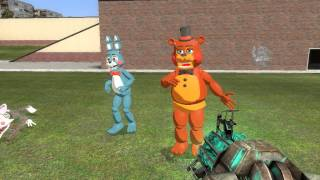 getlinkyoutube.com-gmod RUNNING FNAF 2 TOY ANAMATRONICS!!!!!