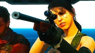 getlinkyoutube.com-Metal Gear Solid 5 - Quiet Saves Snake