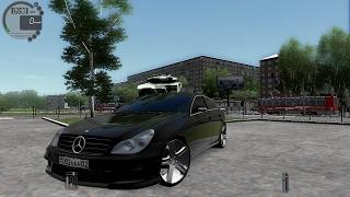 getlinkyoutube.com-City Car Driving 1.5.3 Mercedes CLS 500 Tuning [G27]