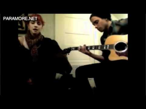 In the Mourning (Song only- no bloopers) Hayley Williams and Taylor York of Paramore