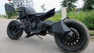Batman batpod batmobile made in Vietnam test drive